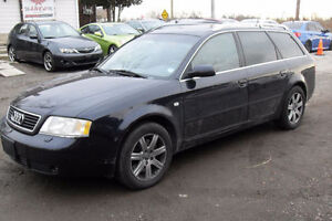 2001 Audi A6 AWD Wagon | Priced to Sell | Come in for test drive