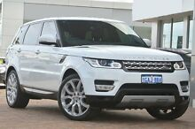 2013 Land Rover Range Rover Sport L494 MY14 SDV6 CommandShift HSE White 8 Speed Sports Automatic Wag Osborne Park Stirling Area Preview