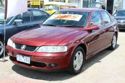 2002 Holden Astra TS CD Burgundy 4 Speed Automatic Hatchback