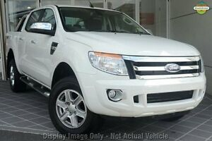2014 Ford Ranger PX XLT Double Cab White 6 Speed Sports Automatic Utility Liverpool Liverpool Area Preview