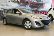 2010 Mazda 3 BL 10 Upgrade Maxx Silver 6 Speed Manual Hatchback Hillman Rockingham Area Preview
