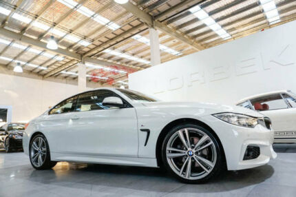 2013 BMW 420d F32 M Sport White 8 Speed Automatic Coupe