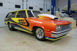 1982 Malibu Wagon , one of a kind Custom 2dr Drag Car