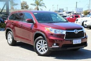 2014 Toyota Kluger Red Sports Automatic Wagon St James Victoria Park Area Preview
