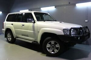 2012 Nissan Patrol Y61 GU 8 ST White 4 Speed Automatic Wagon Invermay Launceston Area Preview
