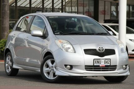 2006 Toyota Yaris NCP91R YRX Quicksilver 4 Speed Automatic Hatchback Christies Beach Morphett Vale Area Preview
