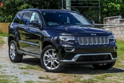 2015 Jeep Grand Cherokee WK MY15 Summit Brilliant Black 8 Speed Sports Automatic Wagon