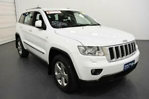 2013 Jeep Grand Cherokee WK MY14 Laredo (4x4) White 8 Speed Automatic Wagon Moorabbin Kingston Area Preview