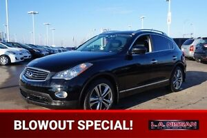 2012 Infiniti EX35 AWD LUXURY Navigation (GPS),  Leather,  Heate