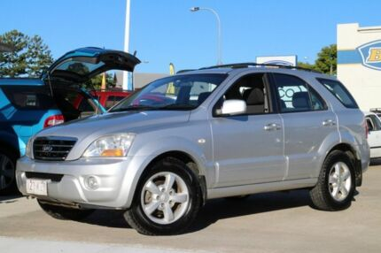 2008 Kia Sorento BL MY08 LX Silver 5 Speed Sports Automatic Wagon Greenslopes Brisbane South West Preview