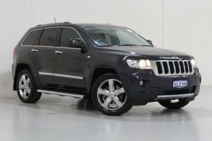 2012 Jeep Grand Cherokee WK MY12 Limited (4x4) Blue 5 Speed Automatic Wagon