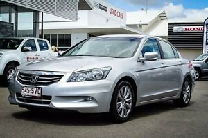 2012 Honda Accord 8th Gen MY12 Limited Edition Alabaster Silver 5 Speed Sports Automatic Sedan Garbutt Townsville City Preview