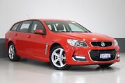 2016 Holden Commodore VF II SV6 Red 6 Speed Automatic Sportswagon Bentley Canning Area Preview