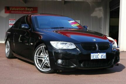 2011 BMW 330D E92 MY11 Steptronic Black Sapphire 6 Speed Auto Seq Sportshift Coupe Northbridge Perth City Preview
