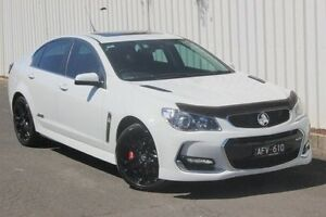2016 Holden Commodore VF II MY16 SS V Redline White 6 Speed Manual Sedan Greensborough Banyule Area Preview