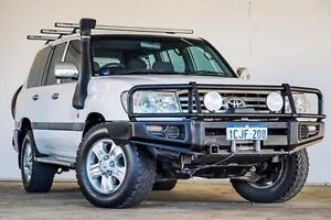 2006 Toyota Landcruiser HDJ100R GXL White 5 Speed Automatic Wagon Embleton Bayswater Area Preview