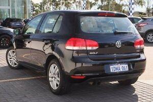 2010 Volkswagen Golf VI MY10 118TSI DSG Comfortline Black 7 Speed Sports Automatic Dual Clutch Wangara Wanneroo Area Preview