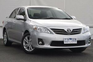 2012 Toyota Corolla ZRE152R MY11 Ascent Sport Silver 4 Speed Automatic Sedan Upper Ferntree Gully Knox Area Preview