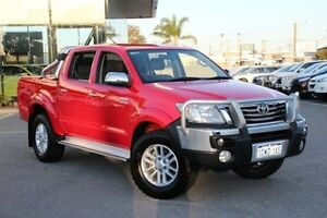 2012 Toyota Hilux Red Automatic Utility St James Victoria Park Area Preview