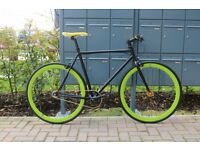 Brand new single speed fixed gear fixie bike/ road bike/ bicycles + 1year warranty & free service f6