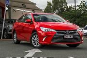 2017 Toyota Camry ASV50R Altise Red 6 Speed Sports Automatic Sedan Noosaville Noosa Area Preview