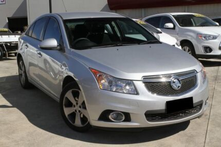 2014 Holden Cruze JH SERIES II MY Equipe Silver 6 Speed Sports Automatic Sedan
