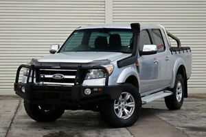 2010 Ford Ranger PK XLT Crew Cab Silver 5 Speed Manual Utility Seaford Frankston Area Preview