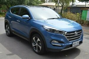 2016 Hyundai Tucson TLe MY17 Highlander D-CT AWD Blue 7 Speed Sports Automatic Dual Clutch Wagon Norwood Norwood Area Preview
