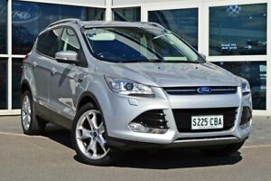2013 Ford Kuga TF Titanium AWD Silver 6 Speed Sports Automatic Wagon Medindie Walkerville Area Preview
