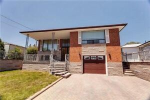 Large, Solid Brick Raised Bungalow Very Well Maintained! Wow!
