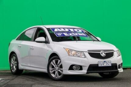 2013 Holden Cruze JH Series II MY14 SRi White 6 Speed Sports Automatic Sedan Ringwood East Maroondah Area Preview