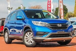 2015 Honda CR-V RM Series II MY16 VTi 4WD Blue 5 Speed Sports Automatic Wagon Myaree Melville Area Preview
