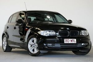 2009 BMW 118i E87 MY09 18i Black 6 Speed Automatic Hatchback Coopers Plains Brisbane South West Preview