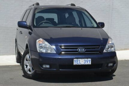 2006 Kia Carnival VQ MY07 EX Blue 4 Speed Auto Seq Sportshift Wagon Pearce Woden Valley Preview