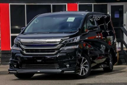 2016 Toyota Vellfire HYBRID AYH30W ZR-G Edition Black Continuous Variable
