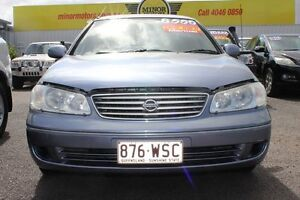 2005 Nissan Pulsar N16 MY2004 ST Blue 5 Speed Manual Sedan Westcourt Cairns City Preview