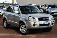 2010 Hyundai Tucson MY09 City SX Silver 4 Speed Sports Automatic Wagon Cannington Canning Area Preview