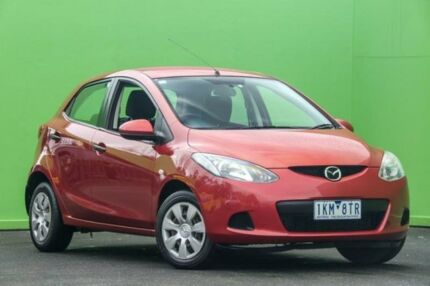 2007 Mazda 2 DE10Y1 Neo Red 5 Speed Manual Hatchback Ringwood East Maroondah Area Preview