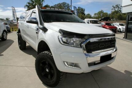 2015 Ford Ranger PX MkII XLT Super Cab White 6 Speed Sports Automatic Utility