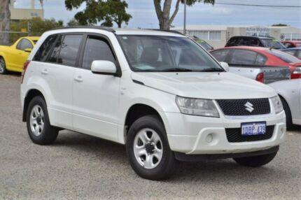 2009 Suzuki Grand Vitara JB MY09 White 5 Speed Manual Wagon Wangara Wanneroo Area Preview