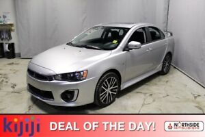 2016 Mitsubishi Lancer AWC GTS Heated Seats,  Sunroof,  Back-up