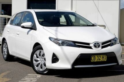 2014 Toyota Corolla ZRE182R Ascent S-CVT White 7 Speed Constant Variable Hatchback Gosford Gosford Area Preview