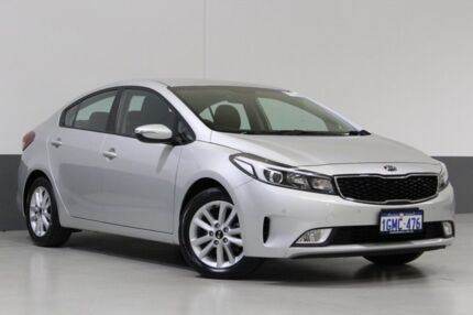 2016 Kia Cerato YD MY16 S Premium Silver 6 Speed Automatic Hatchback St James Victoria Park Area Preview