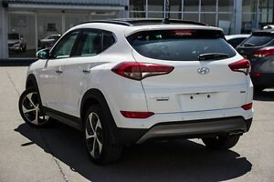 2016 Hyundai Tucson TLE Highlander D-CT AWD White 7 Speed Sports Automatic Dual Clutch Wagon Kings Park Blacktown Area Preview