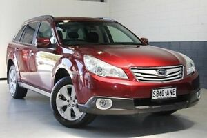 2011 Subaru Outback B5A MY11 2.5i Lineartronic AWD Burgundy 6 Speed Constant Variable Wagon Nailsworth Prospect Area Preview