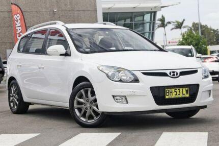 2010 Hyundai i30 FD MY11 SX cw Wagon White 4 Speed Automatic Wagon Gymea Sutherland Area Preview