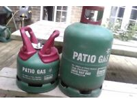 Patio Gas Bottle - Save on deposit - Large one only, small one sold