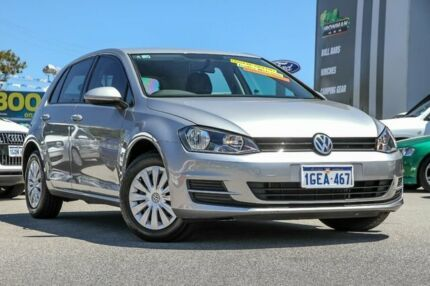 2014 Volkswagen Golf VII MY14 90TSI DSG Silver 7 Speed Sports Automatic Dual Clutch Hatchback Myaree Melville Area Preview