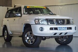 2013 Nissan Patrol Y61 GU 9 ST White 4 Speed Automatic Wagon Wangara Wanneroo Area Preview