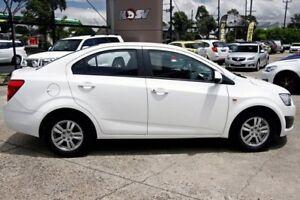 2015 Holden Barina TM MY15 CD White 6 Speed Automatic Sedan